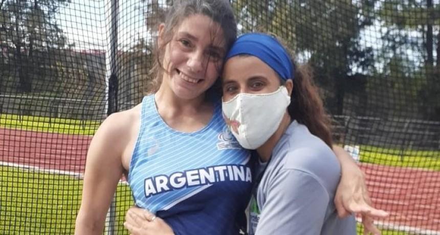 Mercedes: Romina Fernández, dueña del Récord Americano en lanzamiento de clava