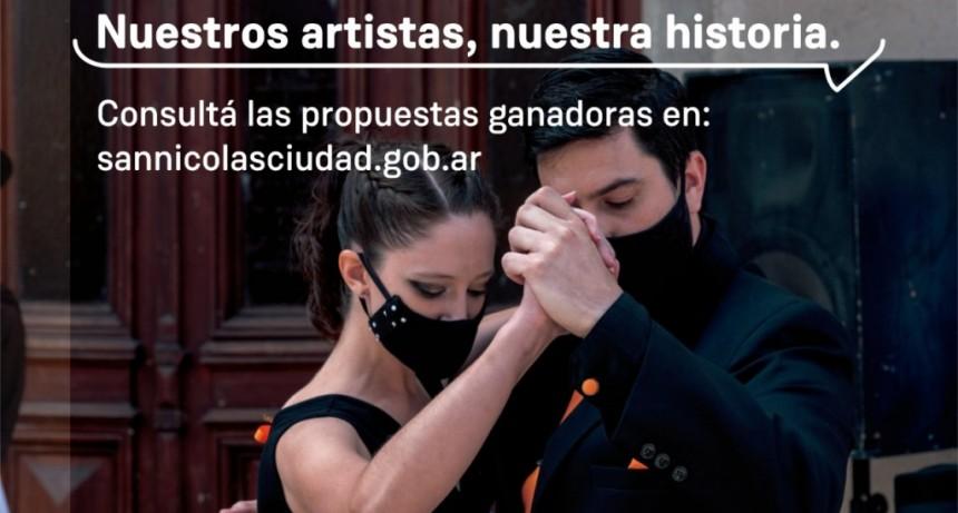 """San Nicolás: Se conocieron los ganadores del concurso """"Nuestro artista, Nuestra Historia"""""""