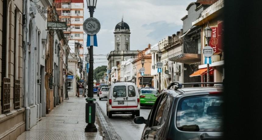 San Nicolás: Intervenciones en la vía pública por el mes del acuerdo