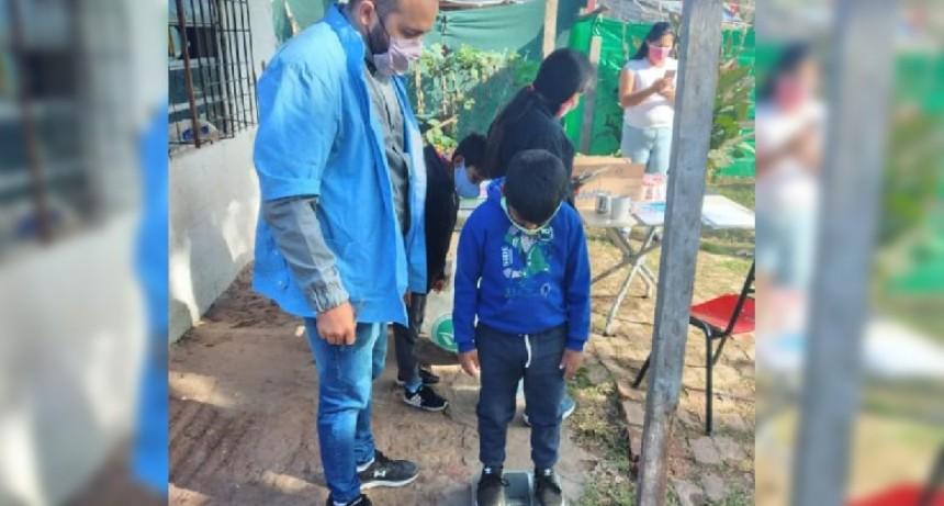 Merlo: Controles pediátrico en Río Alegre