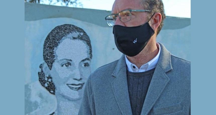 """Walter Torchio: """"Si Evita viviera en esta época seguramente el reconocimiento sería aún mayor"""""""