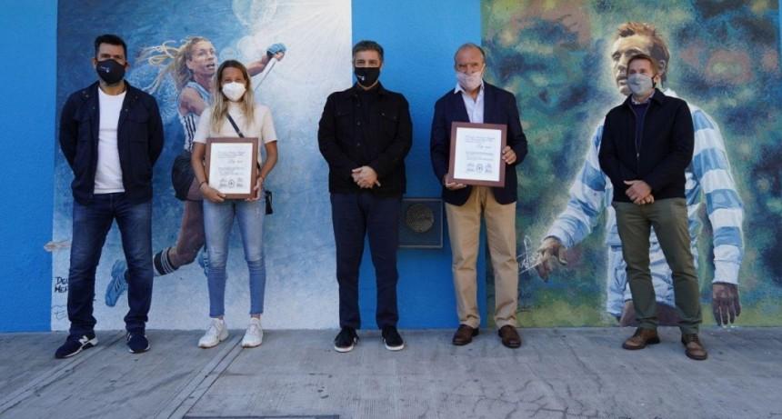 Vicente López: Reconocimiento a Delfina Merino y Hugo Porta como deportistas destacados de la Provincia de Buenos Aires