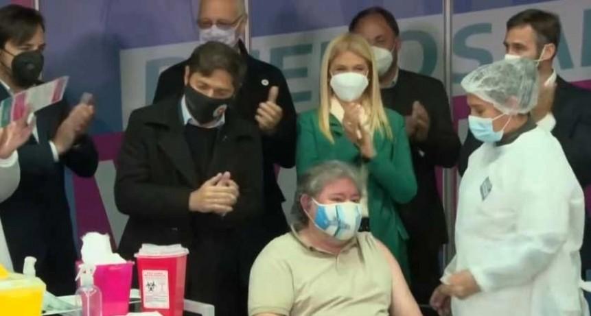 Pilar: Provincia aplicó en el distrito la vacuna contra el COVID número 3 millones
