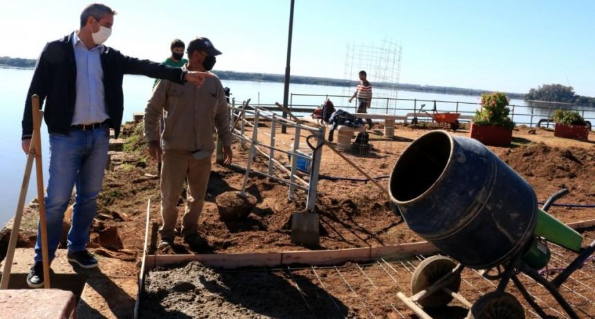 Colón (ER): La Municipalidad trabaja en la puesta en valor de la zona portuaria