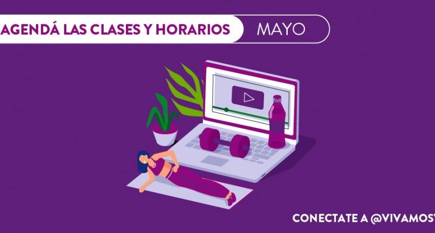 Vicente López: En mayo continúan las clases de gimnasia en vivo por Instagram