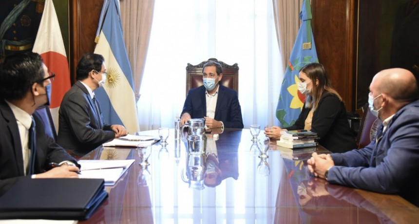 La Plata: El Intendente Garro recibió al Embajador de Japón