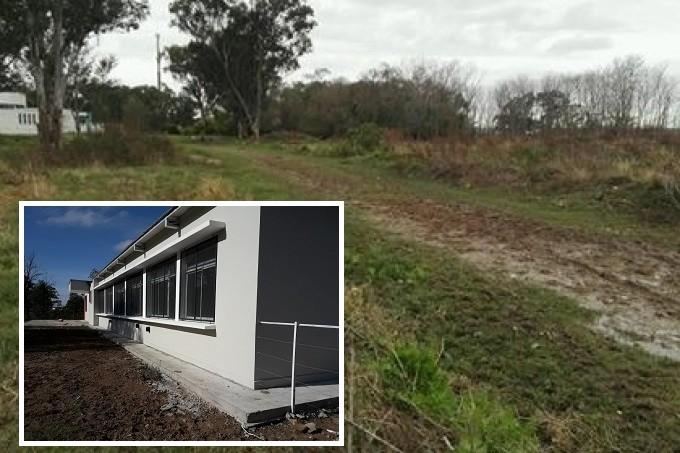 Berisso: Reclaman la pavimentación para llegar a la Escuela Agraria terminada en 2015