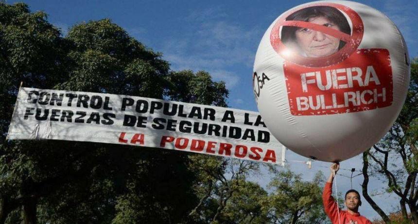 """La Garganta Poderosa le exige la """"renuncia ahora mismo"""" a la ministra Bullrich"""