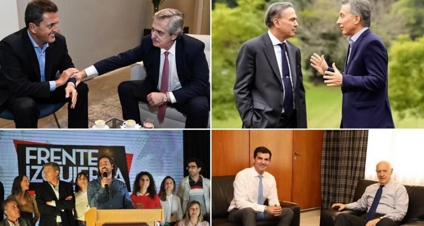Siete Frentes Electorales quedaron inscriptos a nivel nacional