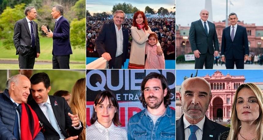Nueve fórmulas para presidente y gobernador/a en provincia de Buenos Aires