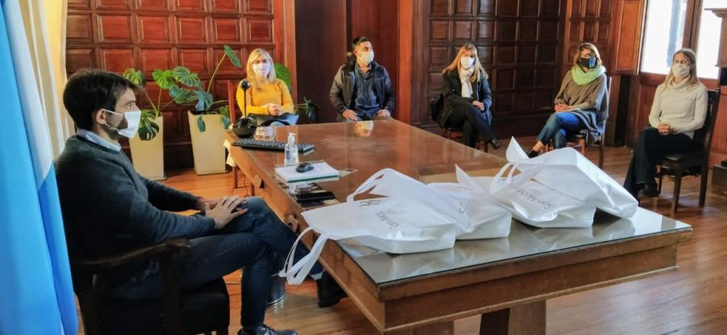San Nicolás: Passaglia se reunió con directivos de escuelas para analizar la situación de la educación