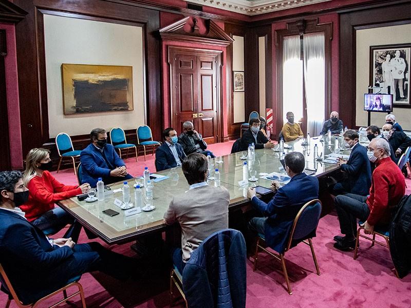 F. Varela: Watson mantuvo un nuevo encuentro con el Gobernador Kicillof