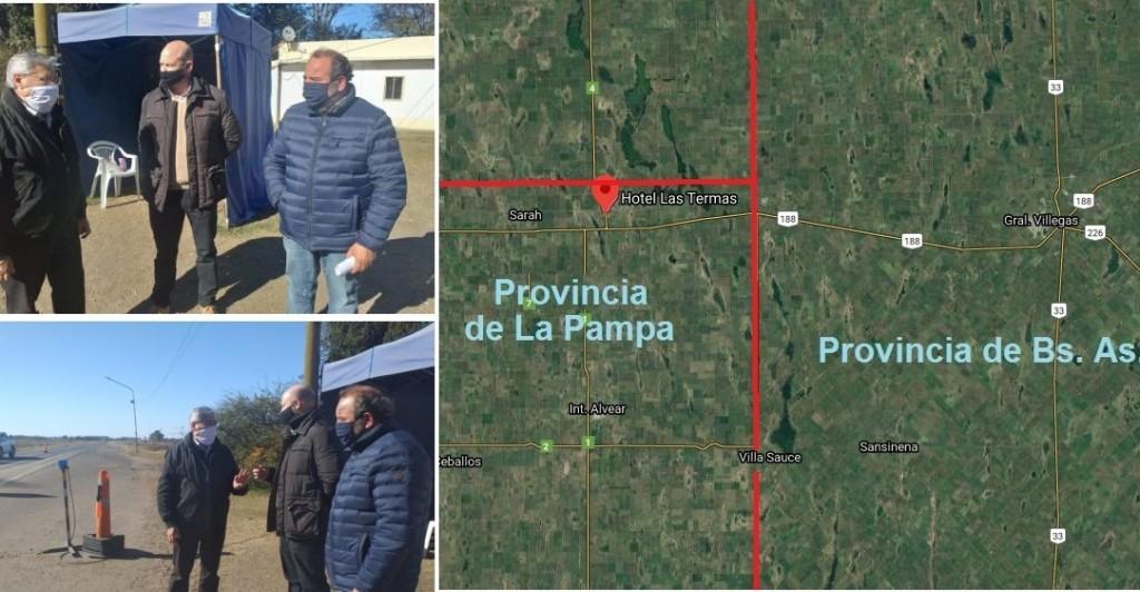 Se habilita el paso interprovincial entre General Villegas (Bs. As.) y Larroudé y Alvear (La Pampa)