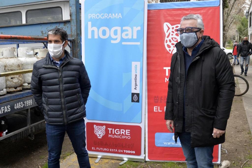 Tigre: Mediante el Programa Hogar, los vecinos acceden a la garrafa social a $349