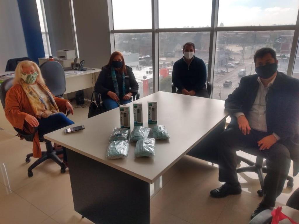 Berazategui: Reuniones entre el municipio y asociaciones comerciales