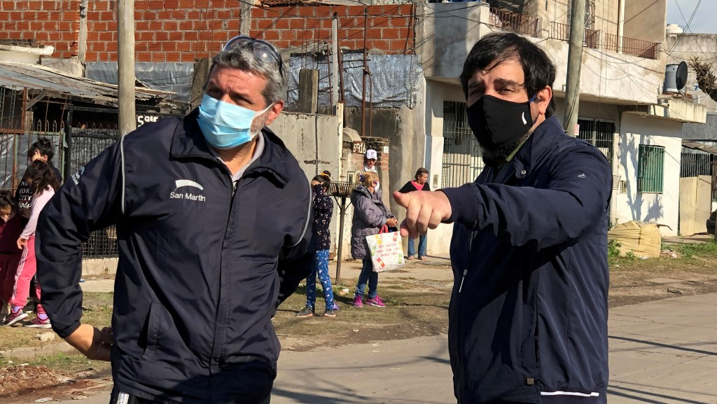 San Martín: Moreira supervisó el operativo DetectAR es Cuidar en Costa Esperanza