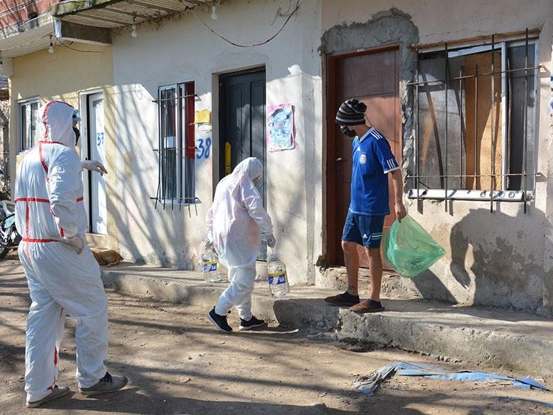 """Berisso: Nuevo operativo de asistencia social en el barrio """"José Luis Cabezas"""""""