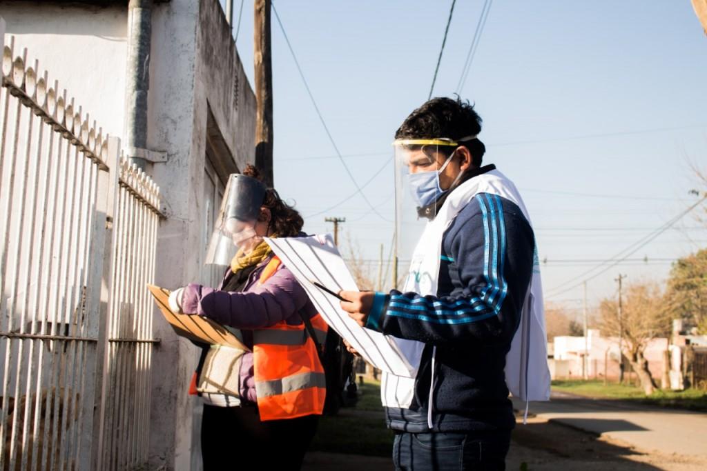 Luján: Con el DetectAR, se relevaron más de 600 casas en S. Fermín, S. Jorge y Santa Marta