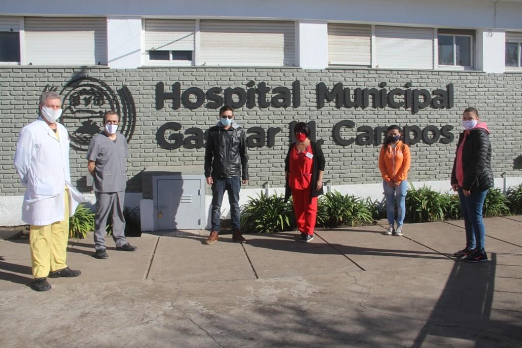 Lobería: Alumnos de la Tecnicatura Superior en Emergencias, colaboran en el Hospital local