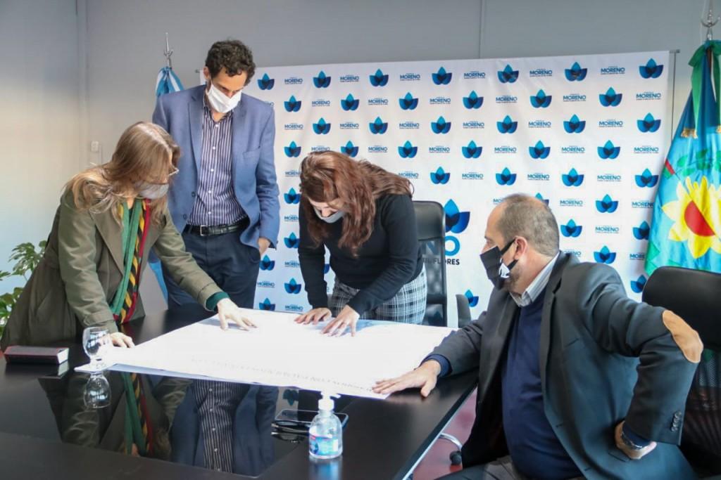 Frederic se reunió con la intendenta Mariel Fernández para reforzar la seguridad en el Partido de Moreno