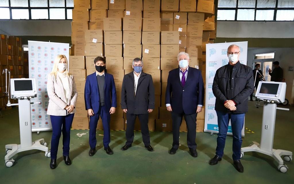 Chivilcoy: Recibió dos nuevos respiradores entregados por el ministro Ginés García y la vicegobernadora Magario