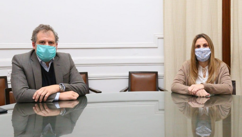 """Pergamino: La secretaria de Salud, María Perretta aseguró que """"seguimos sin tener circulación viral comunitaria"""""""
