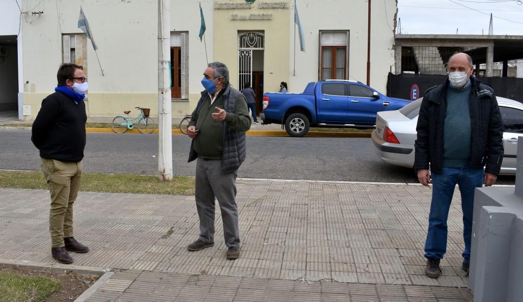 T. Lauquen: El intendente Fernández invertirá más de 2M de pesos en el Hospital 30 de Agosto