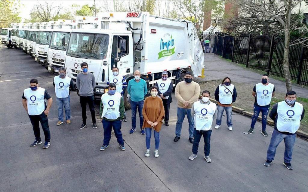 Quilmes: 10 nuevos camiones para el sistema de recolección de residuos municipales