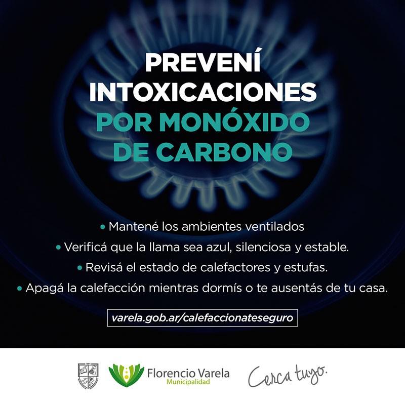 Consejos básicos para prevenir intoxicaciones por monóxido de carbono
