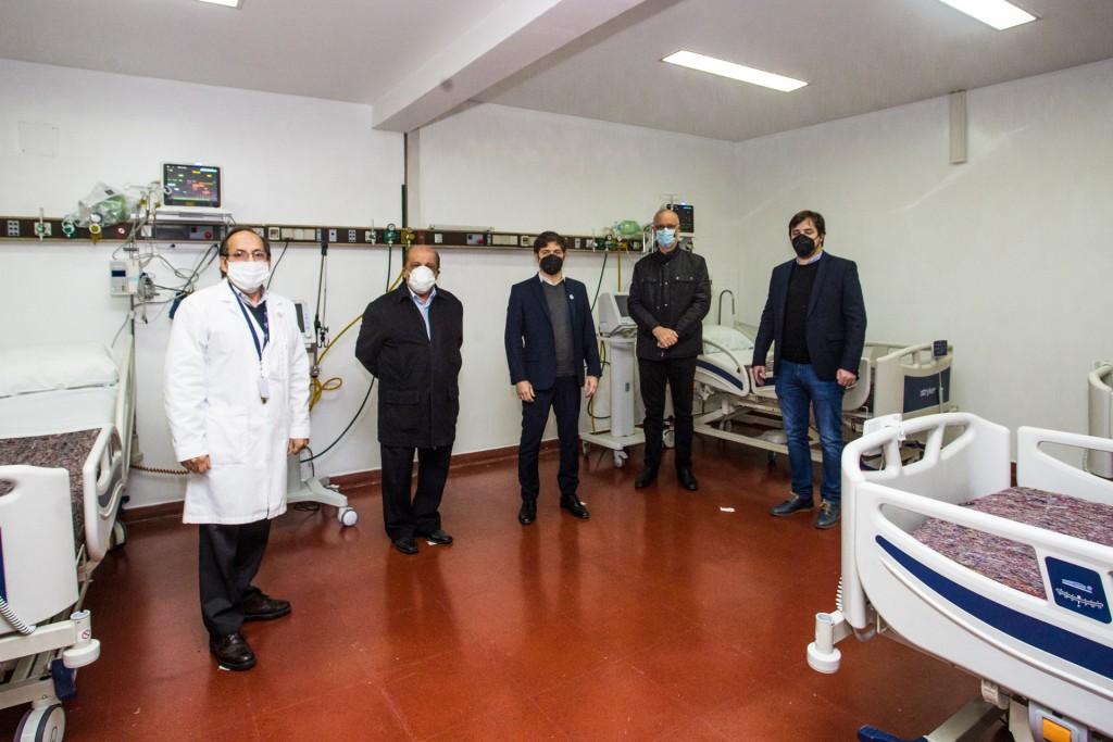 Kicillof inauguró el nuevo servicio de emergencia y terapia intensiva del Hospital de Berazategui