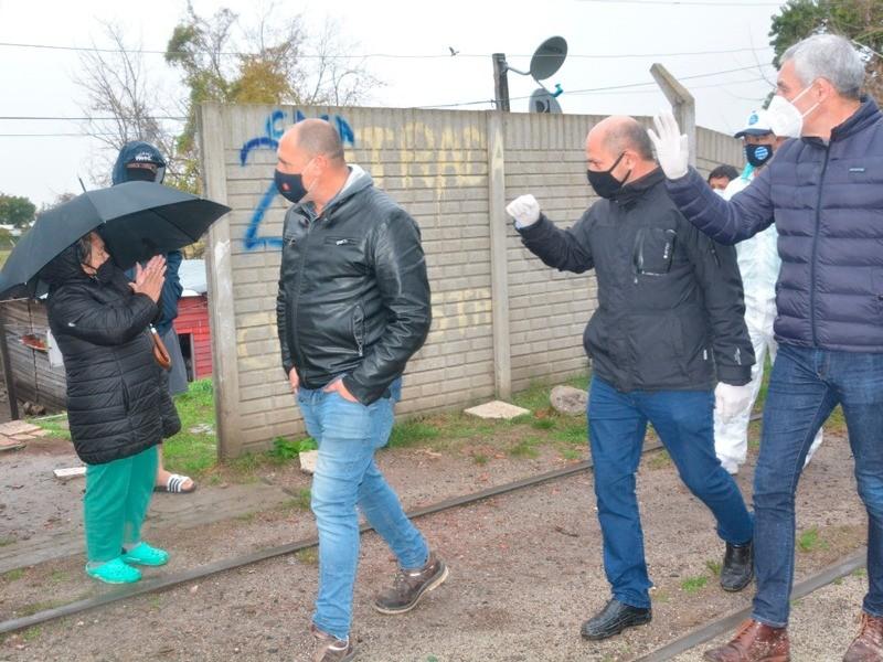 Berisso: Se efectuó la apertura del Barrio José Luis Cabezas
