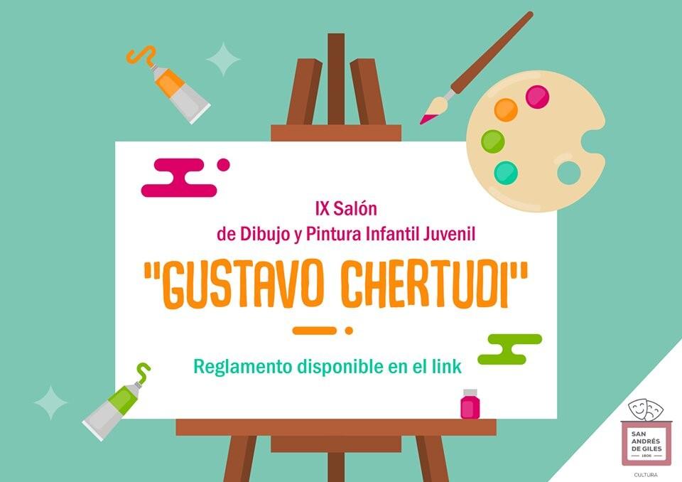 Giles: Inscriben para el IX° Salón de Dibujo y Pintura Infantil - Juvenil