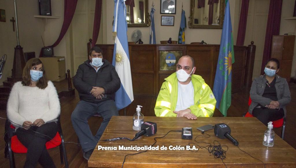 Colón: El Municipio decidió regresar a la Fase 4 e informó sobre las actividades suspendidas