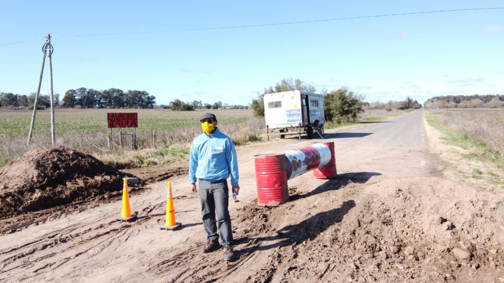 Gral. Belgrano: Nuevo puesto de control y acceso para vehículos pesados que ingresen a sector de sociedad rural y zona frigoríficos