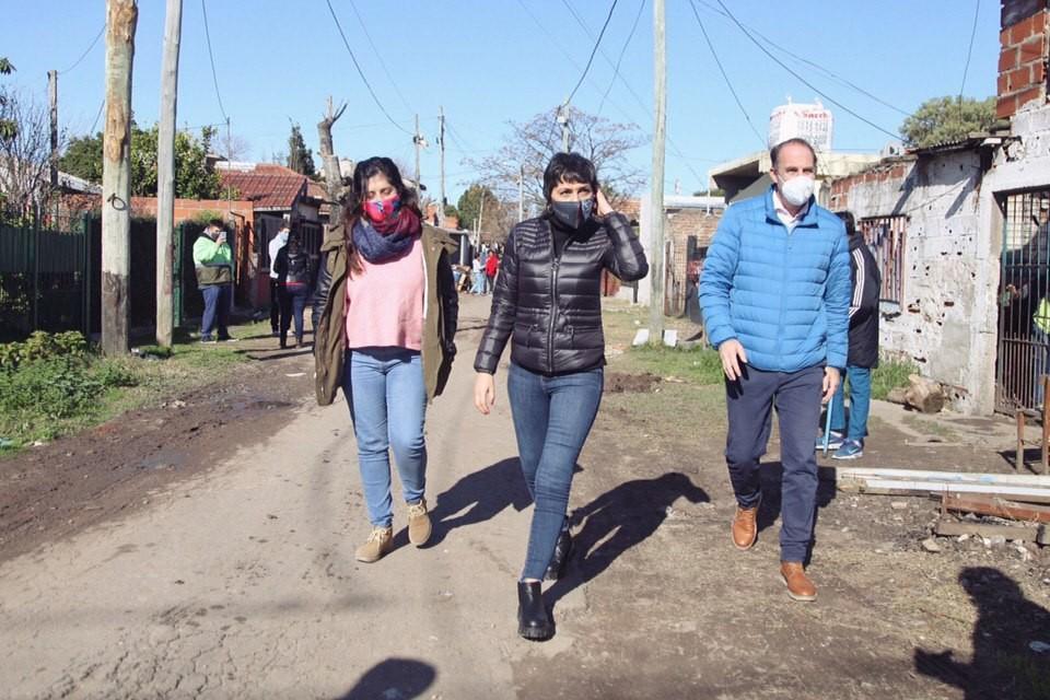 Quilmes: Mayra Mendoza supervisó un nuevo operativo DetectAR en el Barrio La Vera