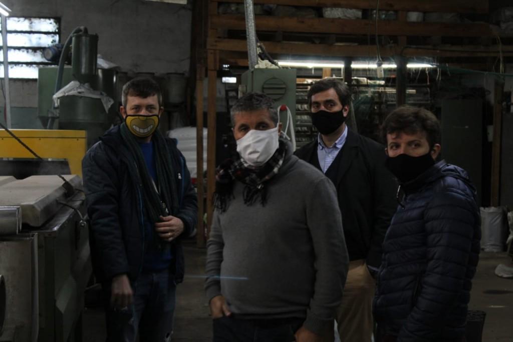Luján: El Intendente Leo Boto visitó empresas y destacó inversiones