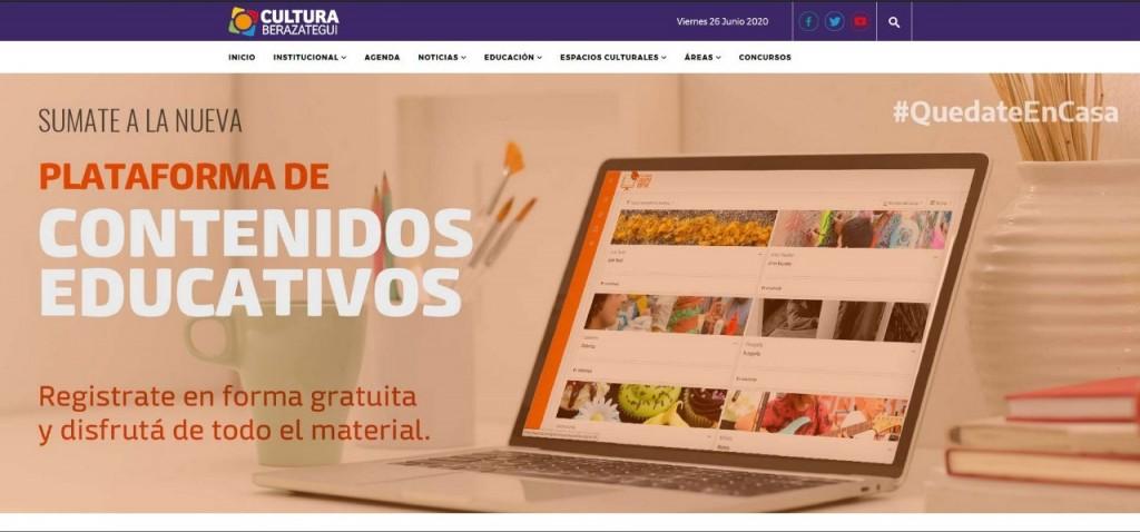 Más de 4 mil vecinos usan la plataforma de contenidos educativos de Berazategui