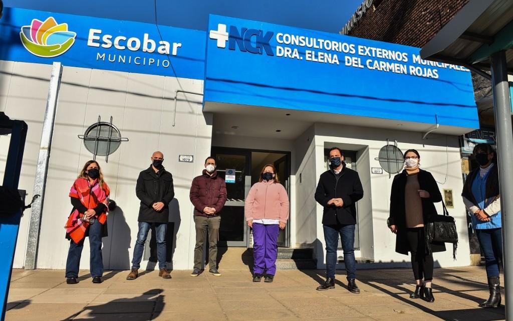 Escobar: Sujarchuk encabezó el acto de inauguración de los consultorios externos del Hospital Néstor Kirchner