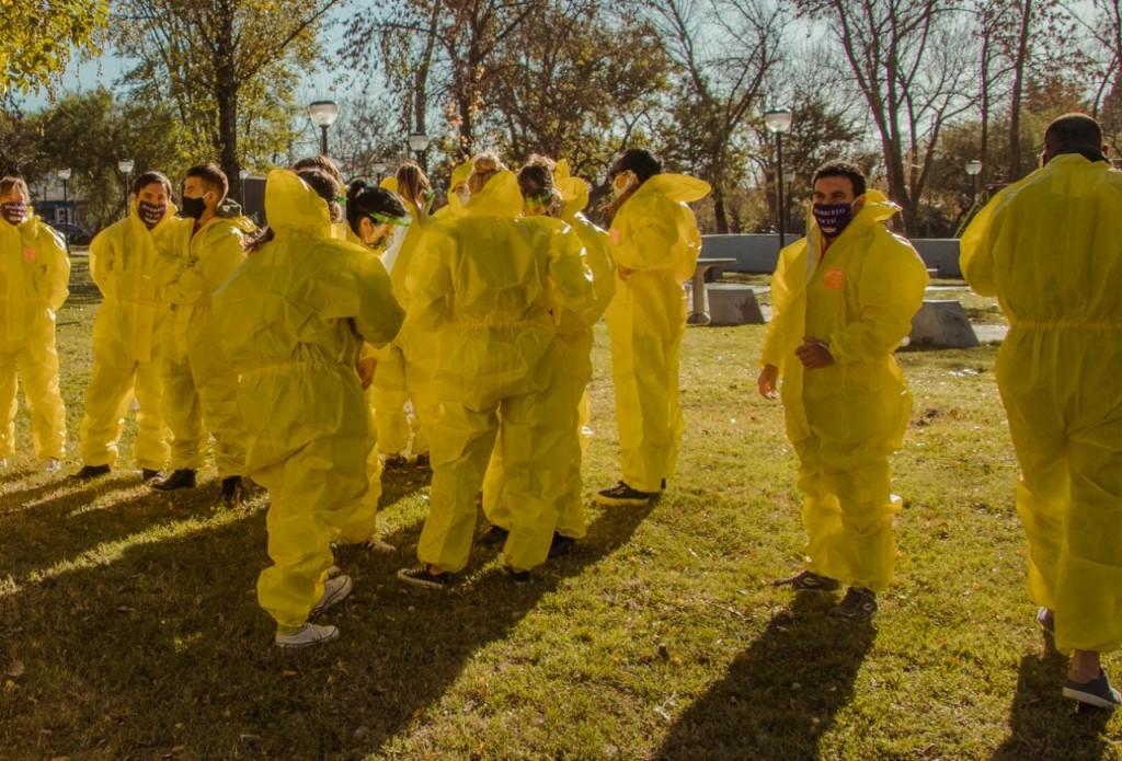 Campana: Se realizó un operativo sanitario para detectar casos sospechosos de Covid - 19