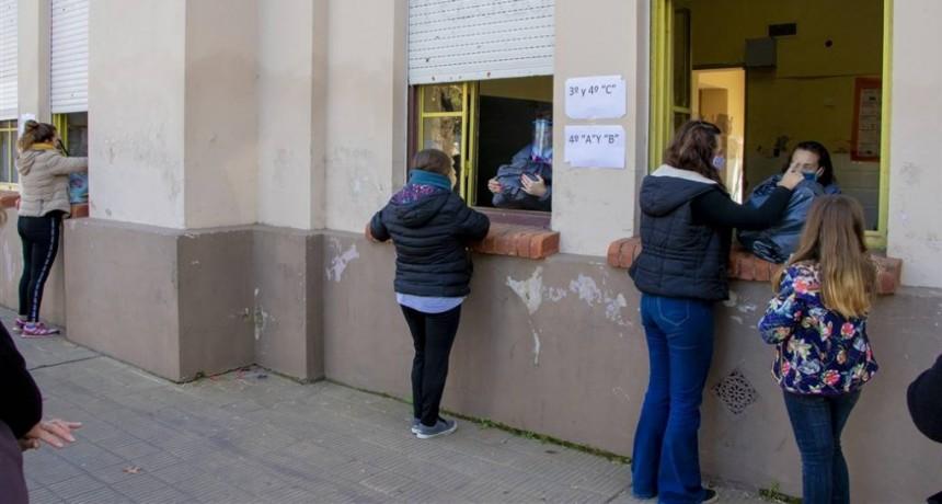 Junín: Nueva entrega de alimentos del SAE