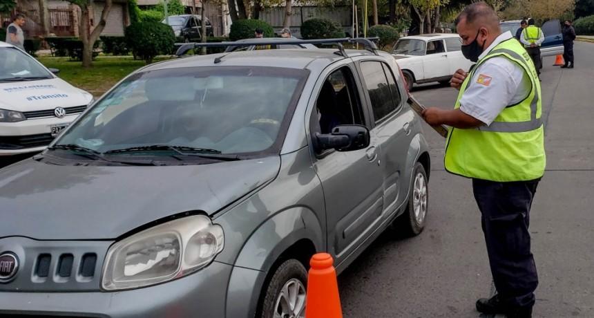 Berazategui intensifica los controles de tránsito para hacer cumplir la cuarentena