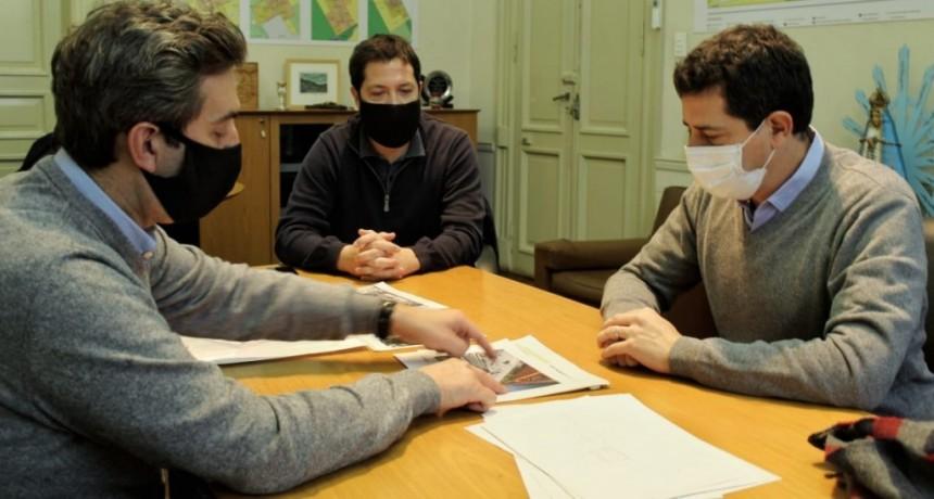 Luján: El Intendente recibió la visita del Ministro del Interior de la Nación