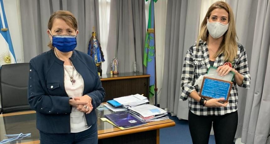 Pte. Perón: La intendente Cantero recibió a la directora de Turismo, Florencia Casamiquela