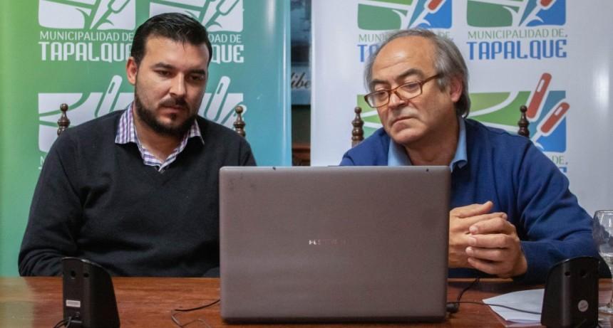 Tapalqué: El Ministro Cabandié mantuvo una reunión virtual con Cocconi sobre la gestión ambiental