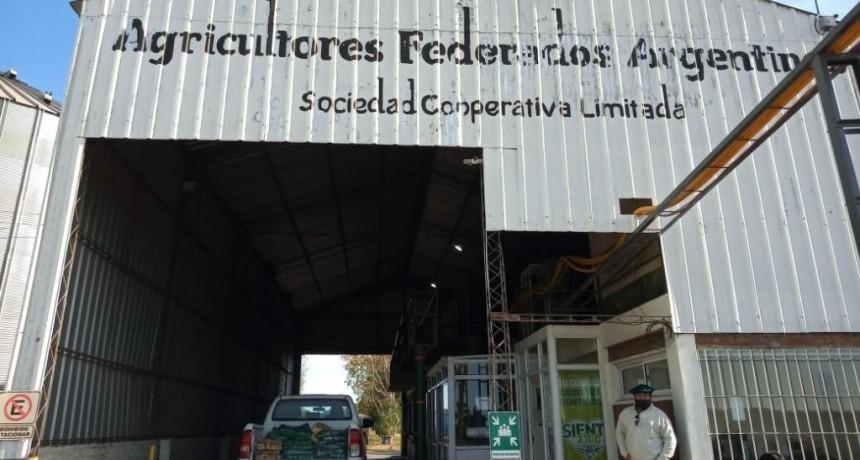 San Pedro: La municipalidad recibió donación de alimentos de Agricultores Federados Argentinos