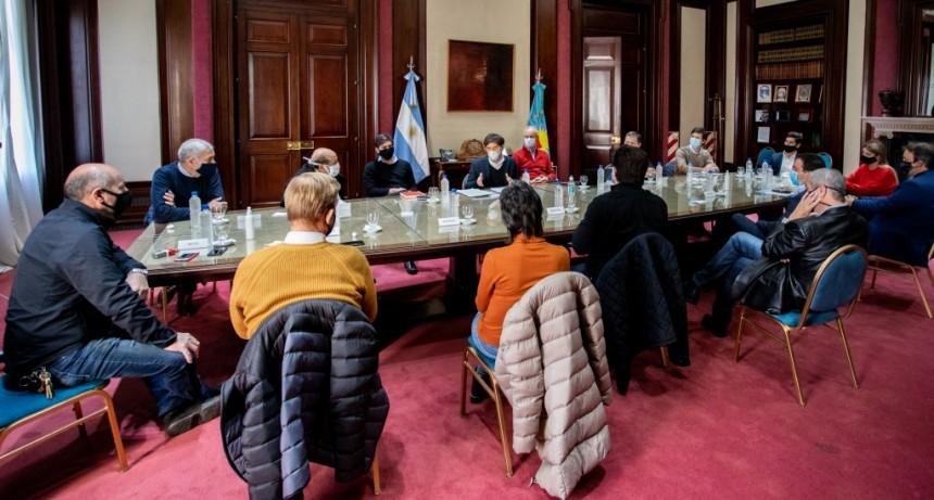 Berazategui: Intendentes se reunieron con Axel Kicillof para evaluar la situación de cada distrito