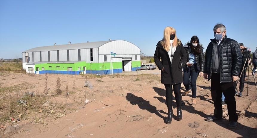 Chivilcoy: Britos recorrió la planta de reciclaje y el predio de disposición final de residuos