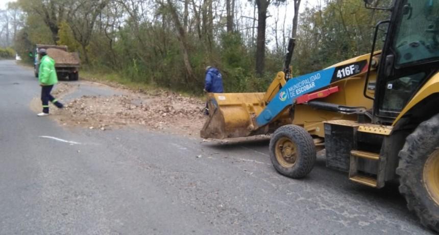 Escobar: Continúan las obras de mejora y mantenimiento del espacio público