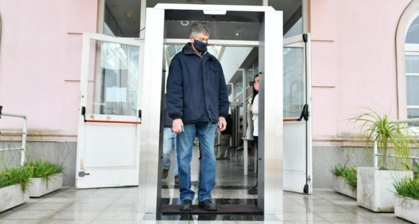 Magdalena: Cabinas sanitizantes para evitar la propagación del virus