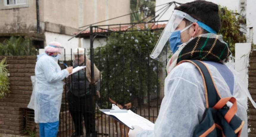 """Alte. Brown: Con el operativo """"DETECTAR"""" el municipio realiza 10 mil controles diarios en localidades"""